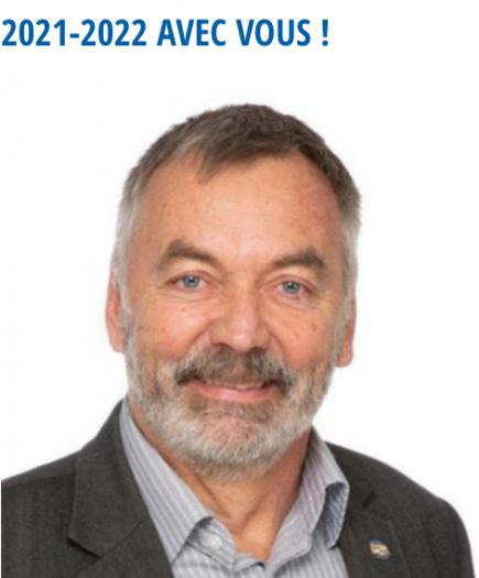 DG Jean-Noël Gex,  Gouverneur 2021-22